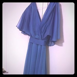 Pretty  blue dress for  special occasions